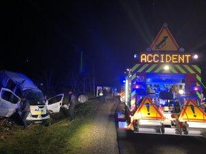 L'accident a eu lieu vers 20 heures.