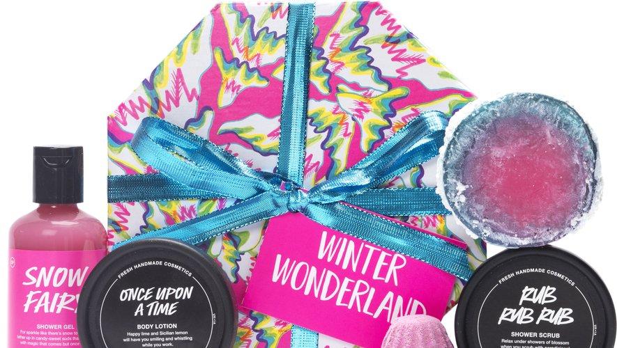 Le coffret Winter Wonderland de Lush - Prix : 38,50 euros - Site : Lush.com.
