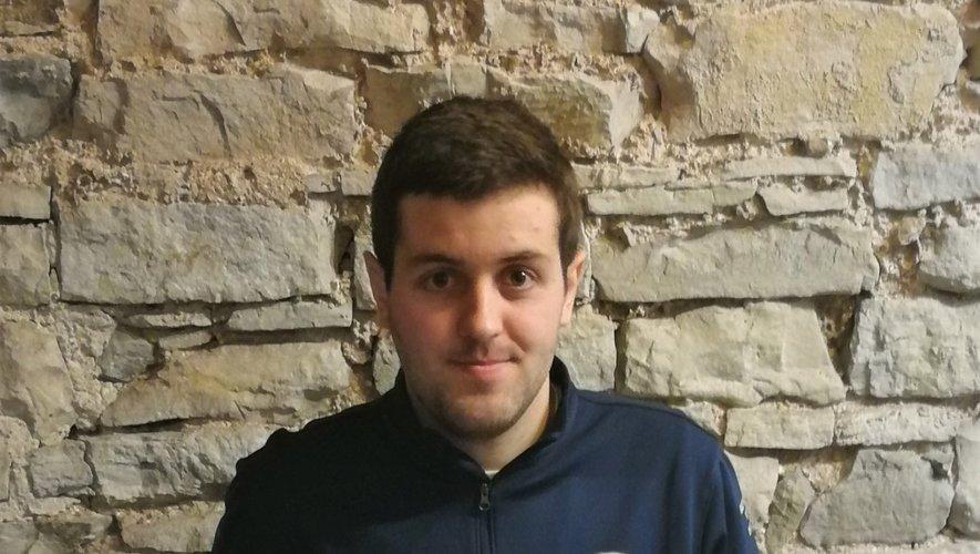 Florian Barrau récompensé en tant que meilleur jeune dirigeant de l'Aveyron