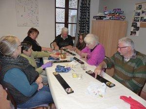 Les seniors ont participé au premier atelier de l'opération Jardin'âge