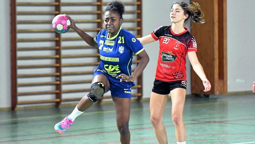 Premier match de la phase retour du championnat pour les joueuses du Roc, face à Mende.