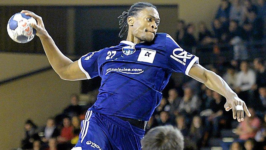 Avec le Roc handball et souvent grâce à sa puissance de feu, Yannick Cham a inscrit plus de 300 buts en deux saisons !Archives Jean-Louis Bories
