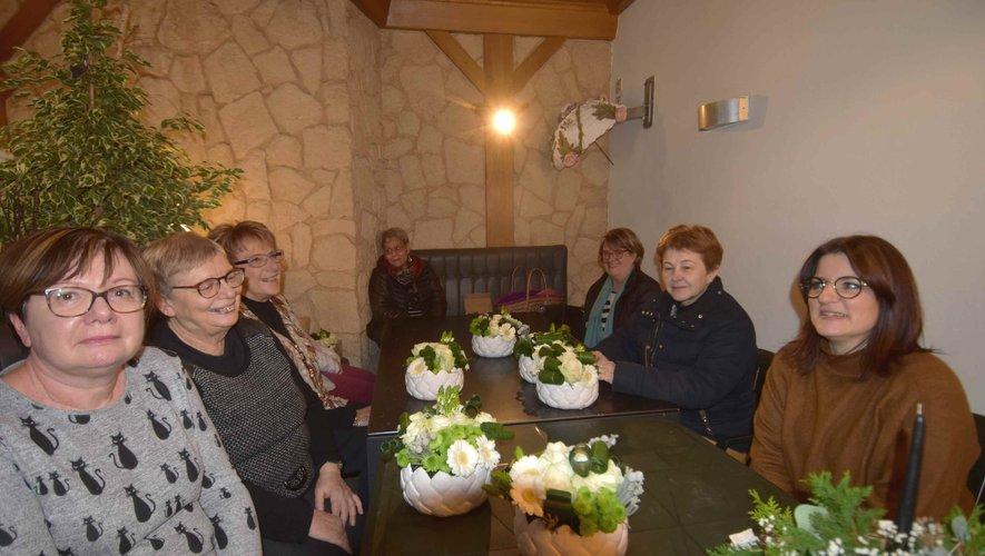 Atelier floral autour d'une composition moderne