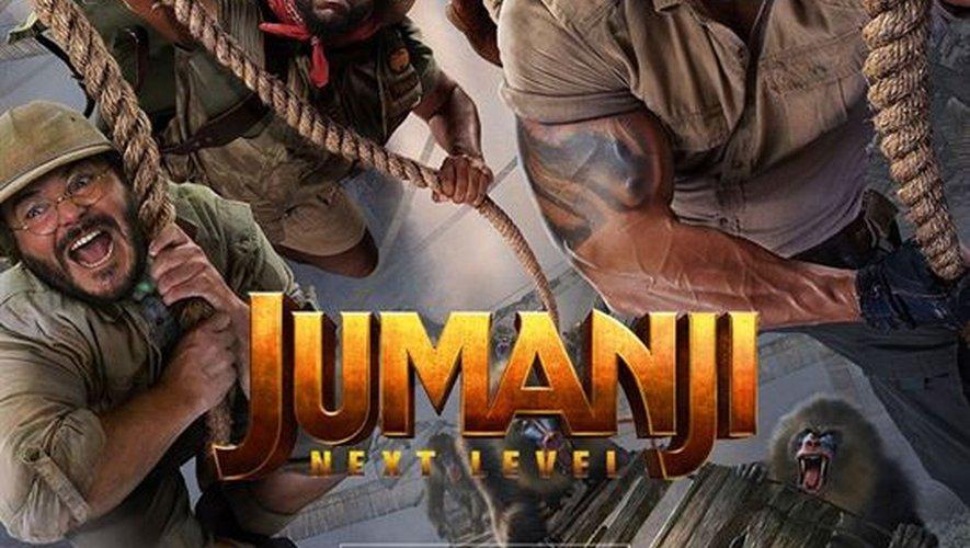 """""""Jumanij: Next Level"""" de Jake Kasdan réunit de nouveau Dwayne Johnson, Jack Black et Kevin Hart."""