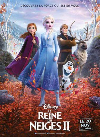 """""""LA Reine des Neiges 2"""" a attiré plus de deux millions de Français en salles depuis le 20 novembre dernier"""