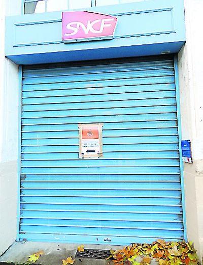 Le rideau est baissé depuis le 13 octobre et des actes de vandalisme.