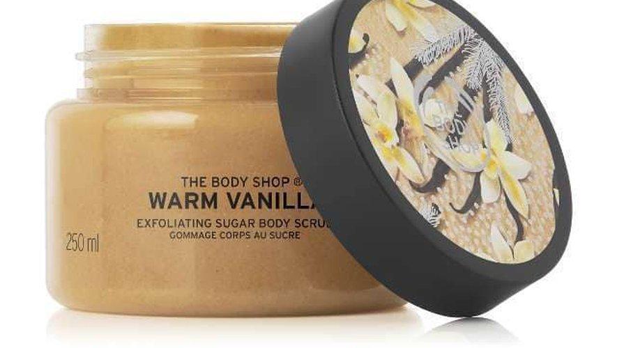 Gommage corporel par the Body Shop