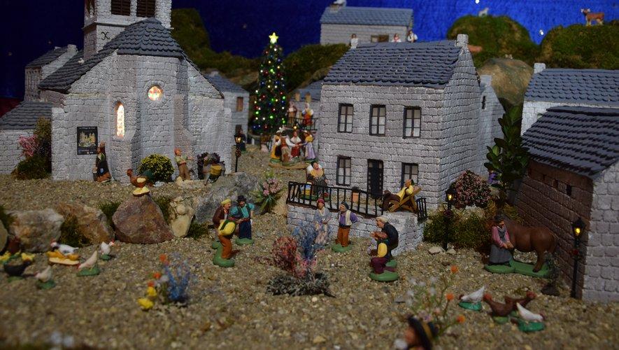 Les personnages sont presque aussi nombreux que dans le vrai village !