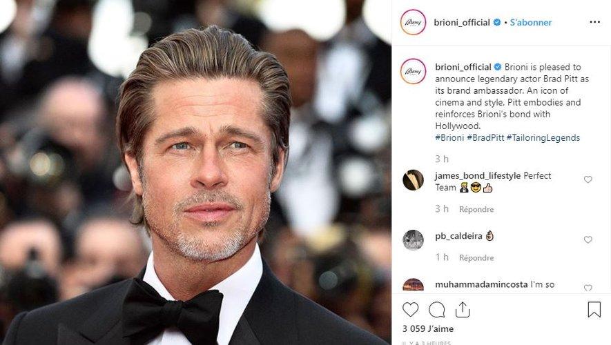Après avoir annoncé Brad Pitt comme nouvel ambassadeur, Brioni signe un accord de licence avec Lalique Group pour la création et la distribution de parfums.