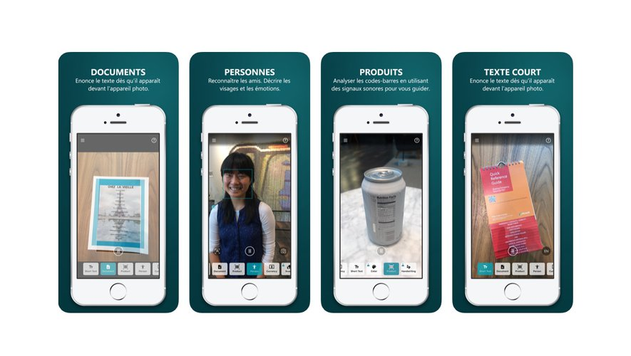 L'application Seeing AI n'est pour le moment disponible que sous iOS.