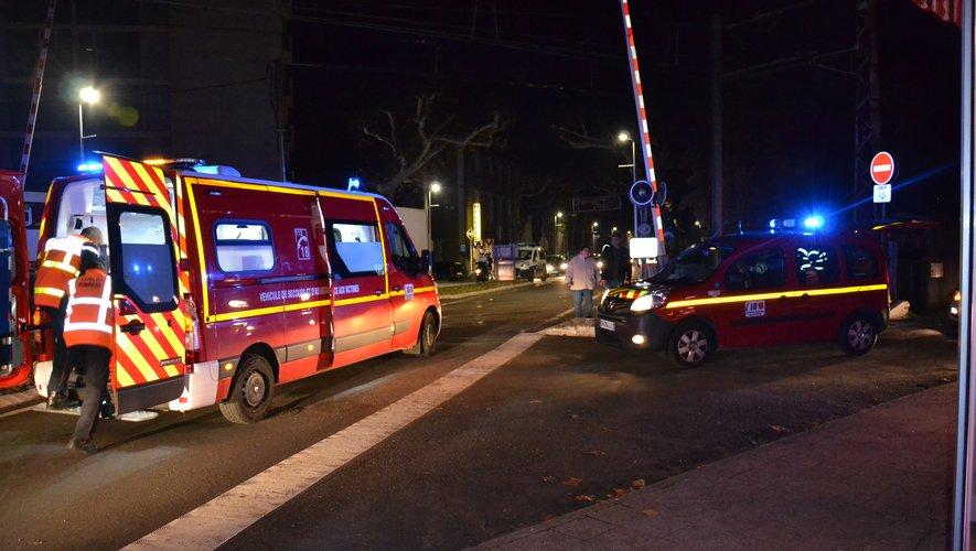 La victime a été héliportée dans un état d'urgence absolue à Montpellier.