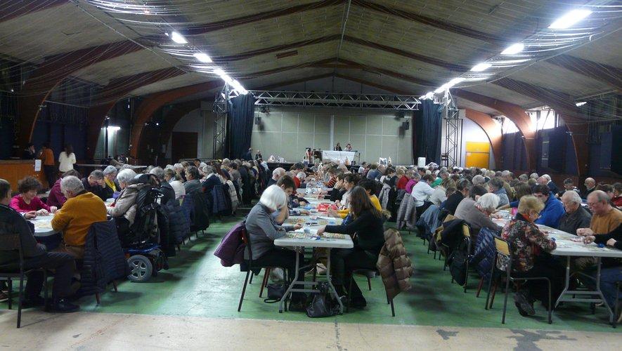 Le quine de l'APF  France handicap  remplit la salle