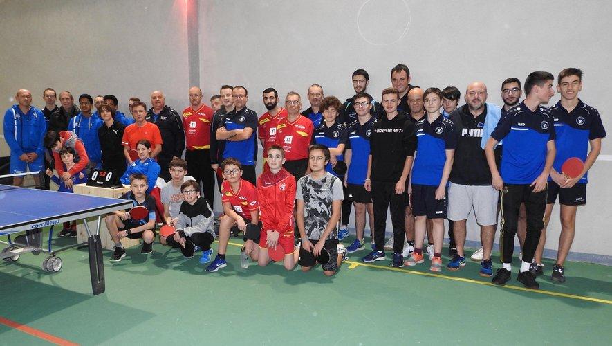 Ping-pong : 10 équipes en compétition