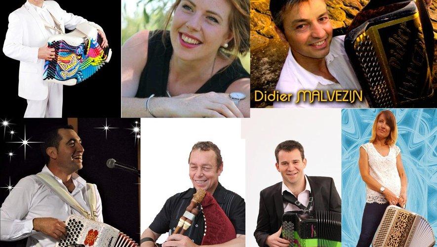Les musiciennes et musiciens du gala du 10 janvier.