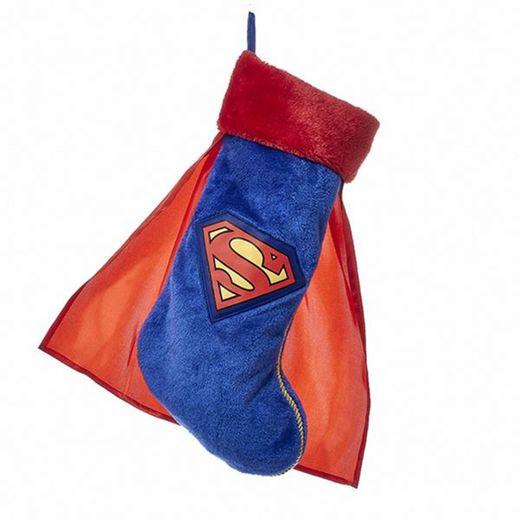 """La chaussette de Noël façon """"Superman"""" du site Kurtadler.com."""