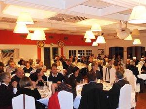 L'hôtel-restaurant Causse Comtal accueillait les amateurs de bons vins.