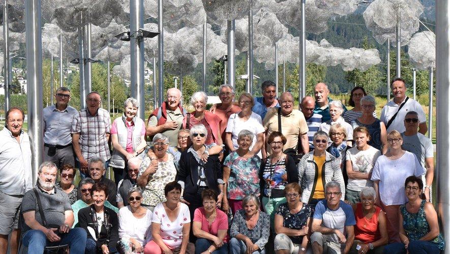 L'Amicale des urs de Cassagnes-Bégonhès (AVCB) découvre le Tyrol