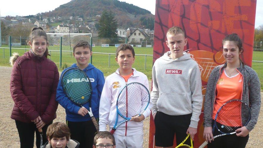 Les équipes 13/14 ans d'Espalion et Cahors.