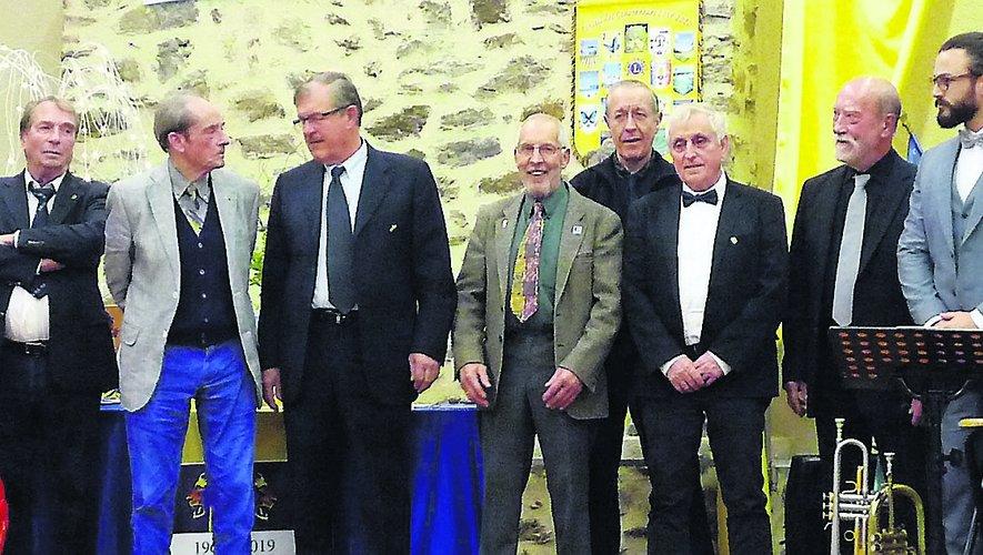 La reconnaissance a été exprimée à plusieurs membres du club villefranchois.