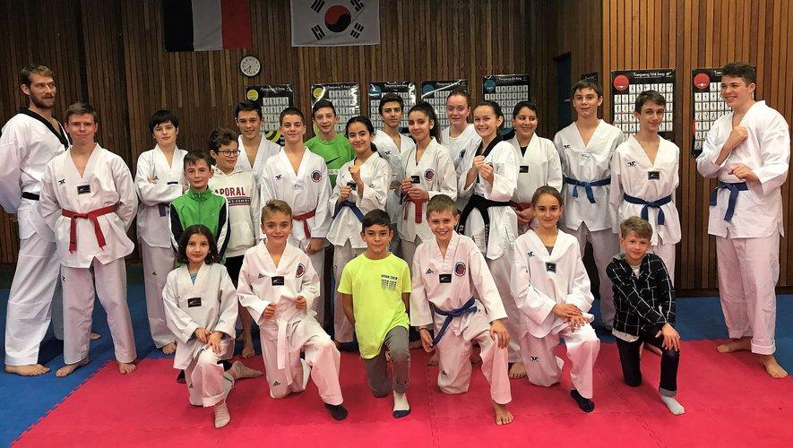 Le club Taekwondo Rodez compte 110 licenciés.