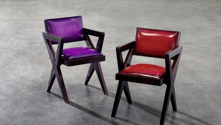 Kris Van Assche de Berluti revisite 17 pièces de Pierre Jeanneret