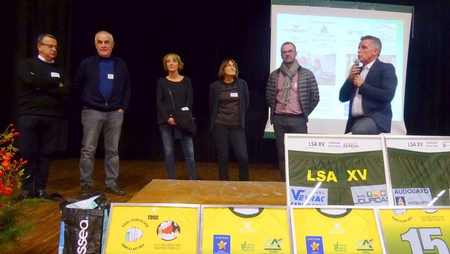 Le maire Jean-Philippe Sadoul a salué le dynamisme de LSA XV, les élus, les coprésidents et Pascal Rivière.