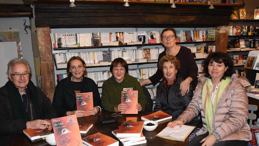 L'association Rouergue-Pigüé est venue apporter son soutien.