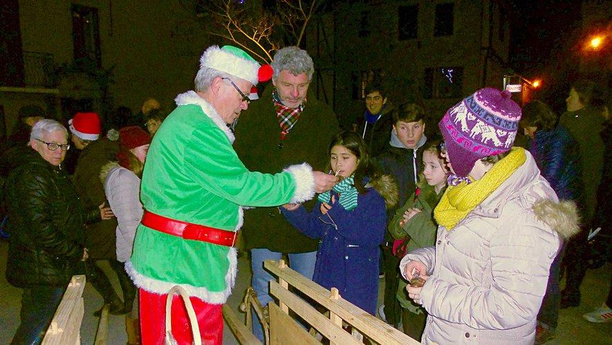 Le père Noël passera, pour la plus grande joie des enfants.