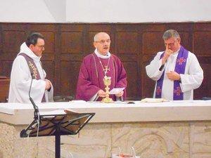 L'évêque Fonlupt a célébré la messe