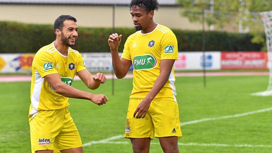 Ouhafsa, Caddy et les Ruthénois affrontent Poitiers cet après-midi pour le compte du huitième tour de la Coupe de France.