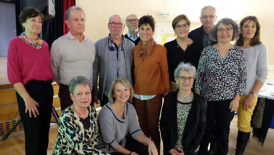 Les membres de l'association avaient concocté une belle soirée aux membres d'Itinéraires Découvertes.