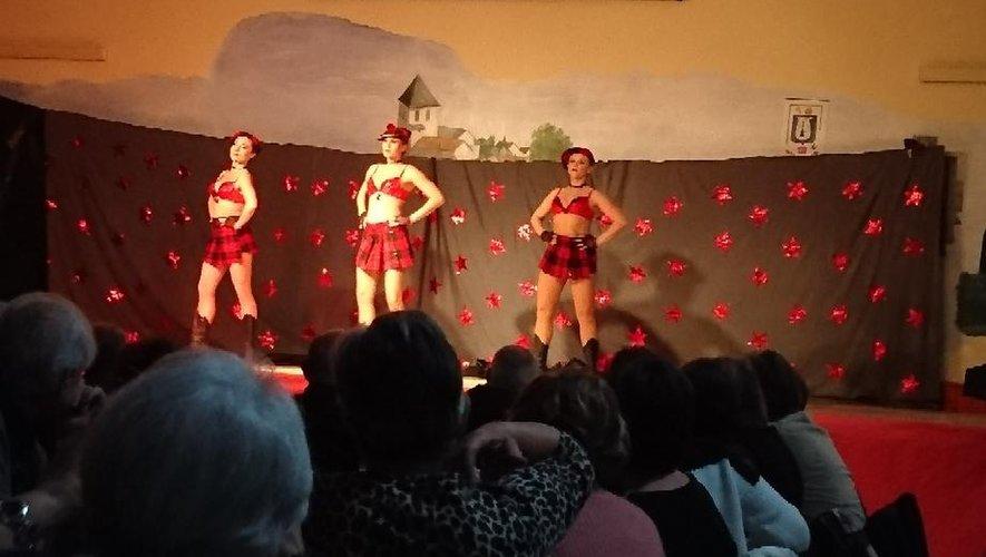 Les danseuses ont fait sensation.