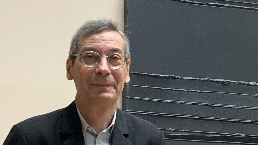 Alfred Pacquement, commissaire de l'exposition.