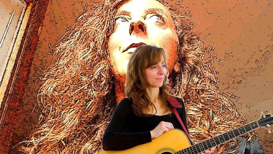 Une guitare et des mots, voilà pour faire une Rose Sophie.