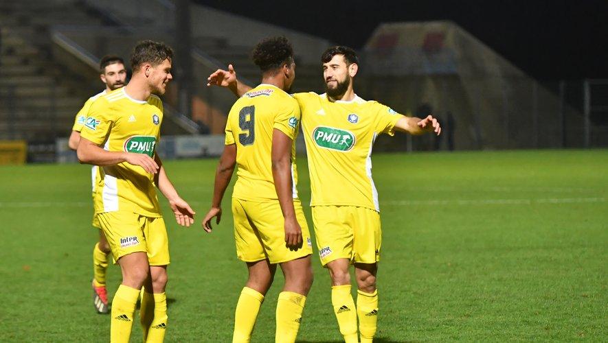 David Douline, Dorian Caddy et Amiran Sanaia peuvent sourire : le Raf poursuit son aventure en Coupe de France