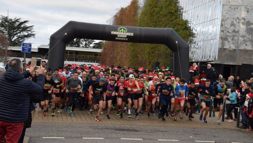 Plus de 600 participants se sont alignés au départ des 8 km.