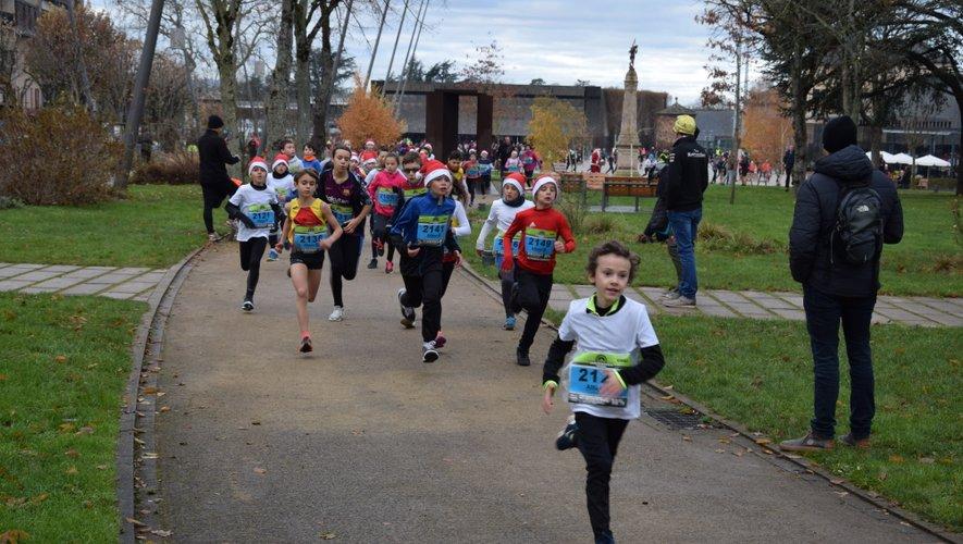Le 800 mètres et le 1 500 mètres ont réunis 113 participants.