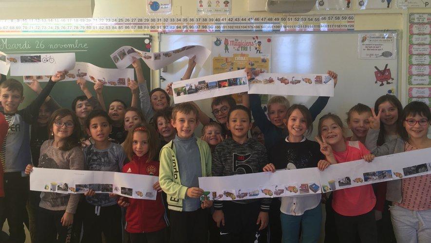 Initiative : les écoliers de l'école publique Jean-Moulin sensibilisés au tri des déchets