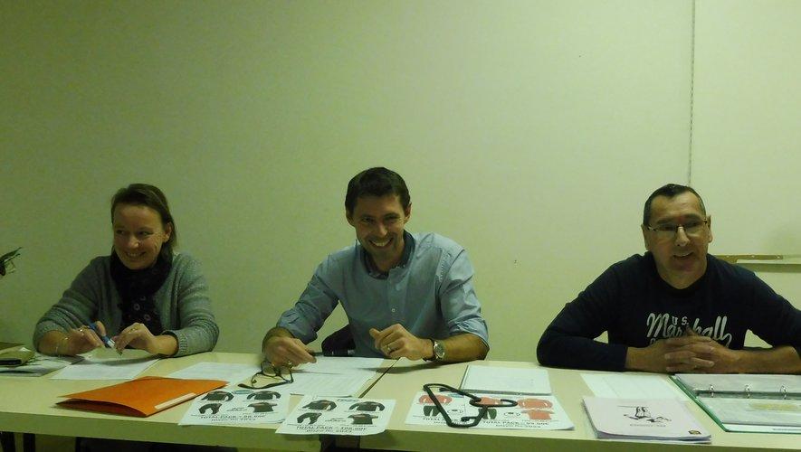 Damien Viguier, Pascal Parnet et Nathalie Hilaire ont animé cette assemblée générale.