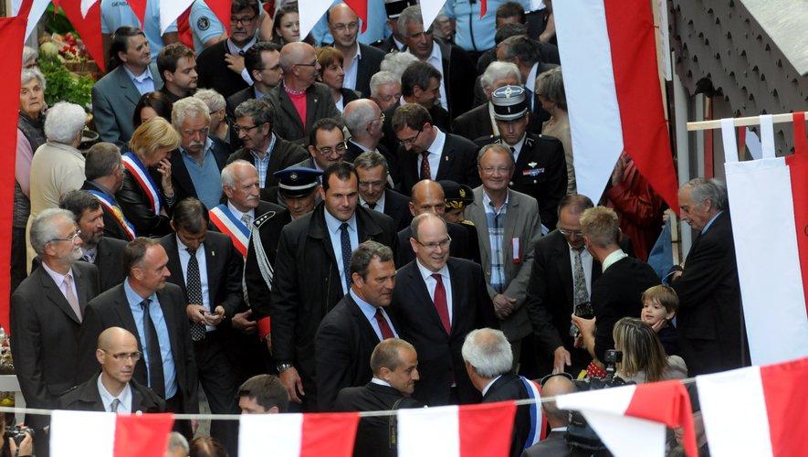Mur-de-Barrez à la fête lors de la venue d'Albert II mais loin des fastes princiers au quotidien.