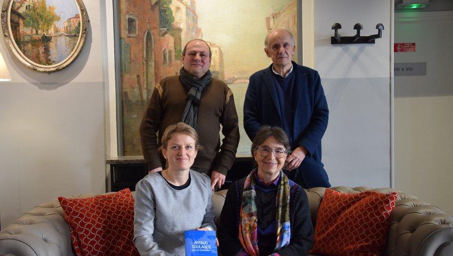 La Ville et l'association Rodez-Antonin Artaud font se rencontrer les deux artistes.