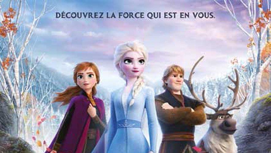 """""""La Reine des Neiges 2"""" a attiré plus de 3,5 millions de spectateurs en France"""