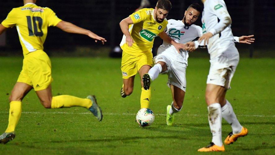 Pour Aurélien tertereau et Rodez, la suite de l'aventure en Coupe de France passera par l'Athlético Marseille.
