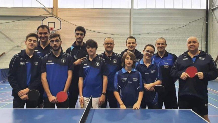 Onze joueurs ont participé à la dernière manche de la phase 1 du championnat à Baraqueville.