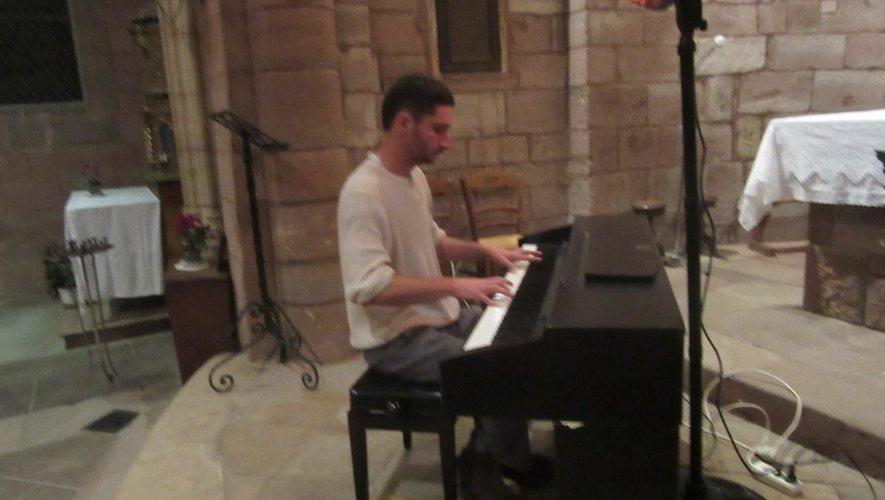 Le pianniste Gilles Liacopoulos.