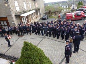 La Sainte-Barbe est l'occasion de rendre hommage aux soldats du feu.