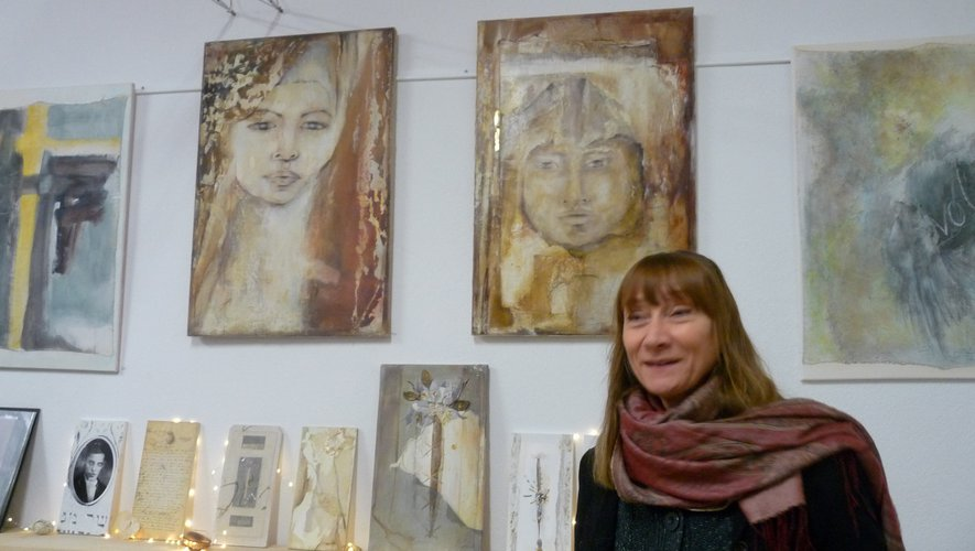 L'artiste plasticienne Sylvie Menou.