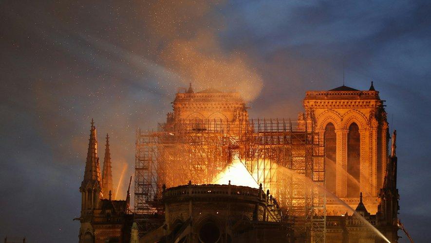 L'incendie de Notre-Dame a été la principale préoccupation des internautes français en 2019.