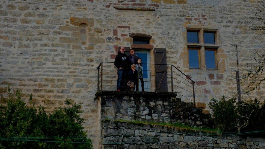 La famille Barbieri attend ses visiteurs.