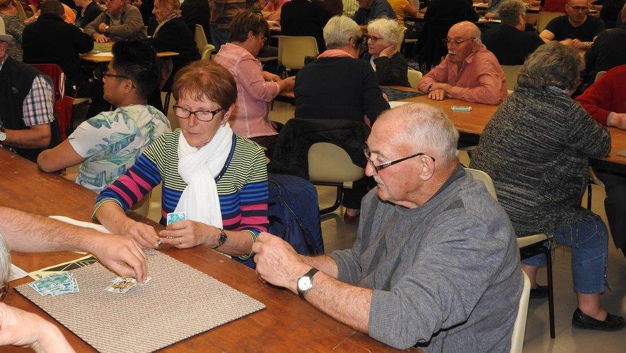 Des concours de belote très prisés pour le challenge organisé à Lioujas.